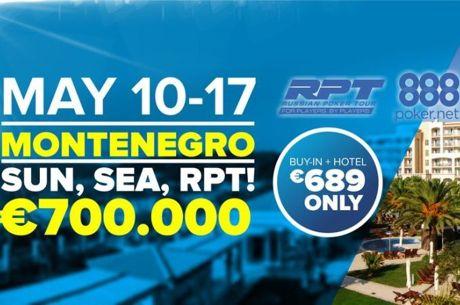 Montenegro RPT & 888poker Festival od 10. do 17. Maja u Splendidu