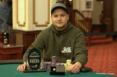 Russ Meilunas Finds Victory in Second PlayNow Poker Championship Final Table