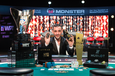 Farid Yachou gana el WPT Tournament of Champions por $381.600 y un Corvette
