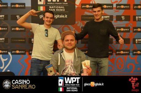 """Lietuviai dominavo WPTN """"High Roller"""", pergalę iškovojęs V.Špakauskas apdovanotas..."""