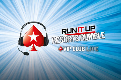 "PokerStars Bring Special ""Onlive"" Event To New Jersey with Run It Up Resorts Rumble"