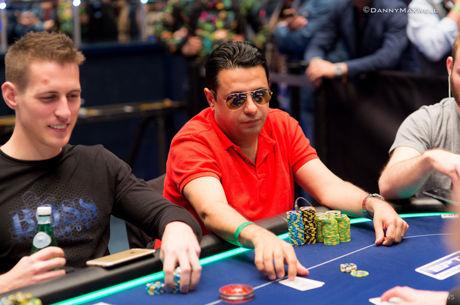 Ali Reza Fatehi leidt finaletafel van €100.000 Super High Roller in Monte Carlo