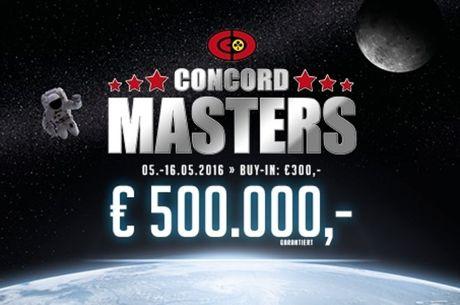 Das Concord Masters 3 startet in 13 Poker Casinos
