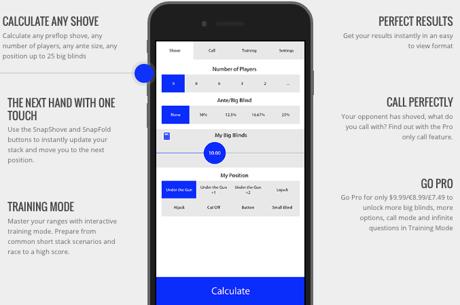 Max Silver Cria Aplicação para Saber Ranges de Shove e Fold