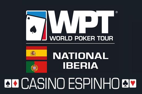 Hoje às 20:00 Último Satélite WPT National Iberia no Casino de Espinho