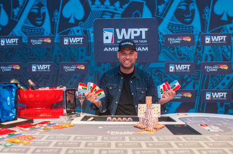 Robert Soogea Wins 2016 WPT Amsterdam High Roller for €150,000