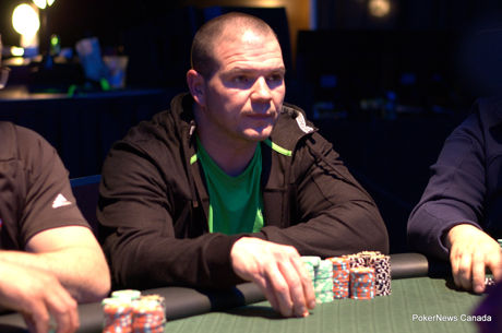 Jeff Cormier Leads 31 Survivors in Western Canada Poker Open Day 1b