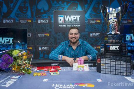 Andjelko Andrejevic deja a Zinno sin machada y se lleva €200.000 por ganar el WPT Amterdam...