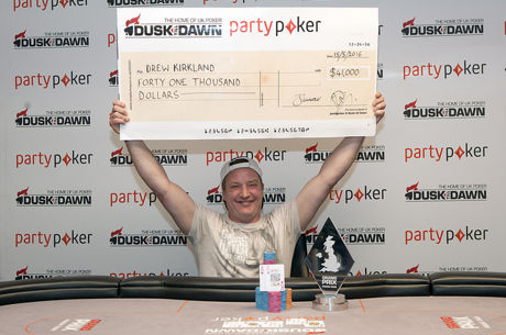 Drew Kirkland Triumphs at Grand Prix Poker Tour Glasgow