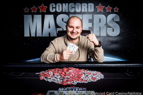 Mario Menicanin gewinnt das Concord Masters 2016