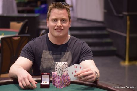 Dallas Larson Wins the Ring in Diamond Poker Classic Event #2