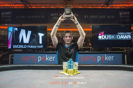 Il remporte 19 millions de fois sa mise de départ et le WPT National UK, Antoine Saout 91e