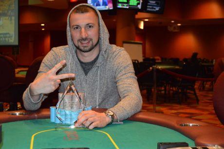Кевин Грабел вершит историю в Parx Casino