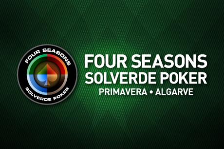 Calendário Four Seasons Solverde Poker Algarve - 26 a 29 de Maio