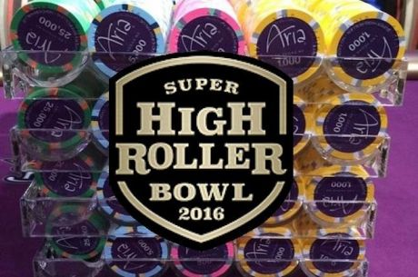 Live Coverage of $300,000 Super High Roller Bowl at ARIA Starts Today