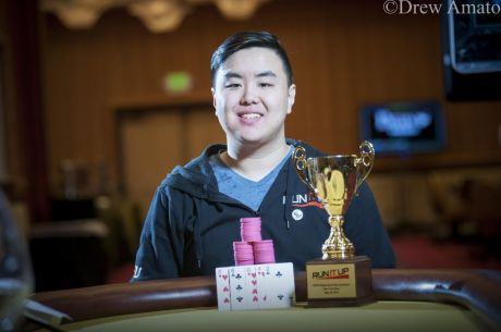 "Michael ""Zlasher"" Chan Wins Run It Up Reno $125 8-Game Stud Club Championship"