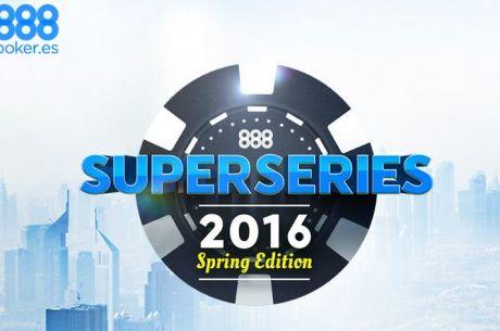 Comenzaron las SuperSeries de Primavera de 888poker.es: 'Vasudeva27' y 'sparrita' se llevaron...