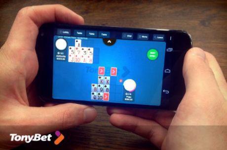 """""""TonyBet"""" pristatė mobiliają aplikaciją grynųjų pinigų žaidimams"""