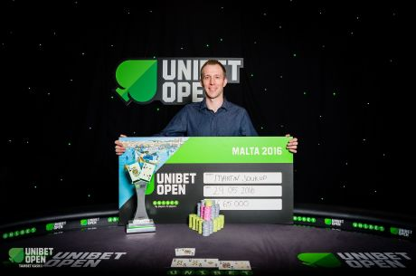 Martin Soukup Captures 2016 Unibet Open Malta Main Event Title