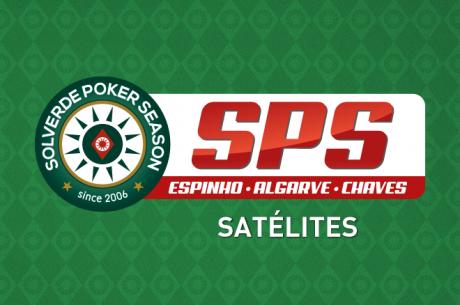 Hoje às 20:30 Satélite Etapa 7 Solverde Poker Season em Vilamoura
