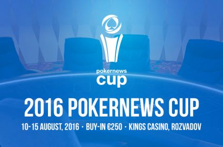 2016 PokerNews Cup přináší €200,000 GTD Main Event v srpnu do King's Casina
