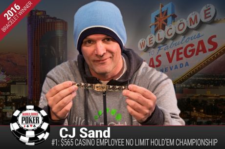 WSOP 2016: Christopher Sand Vence Evento #1 - Casino Employees ($75.157)