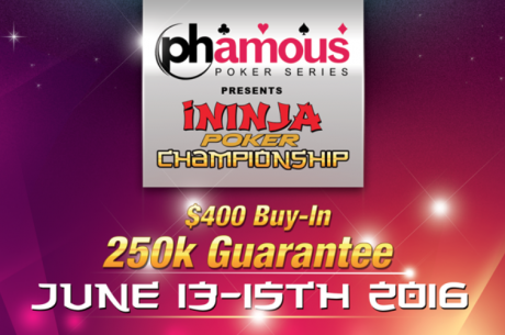Play the iNinja World Championship at Planet Hollywood in Las Vegas June 13-15