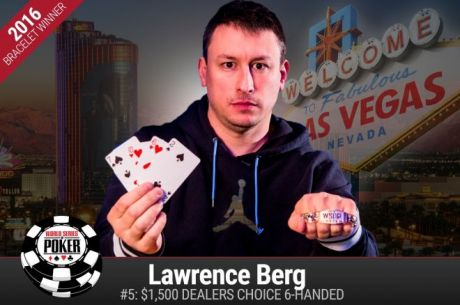 Larry Berg Vence Evento #5: $1500 Dealers Choice 6-Handed ( $125.466)
