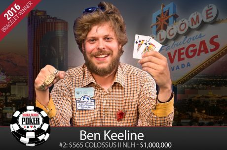 2016 WSOP Day 7: Benjamin Keeline is First New Millionaire of the Summer