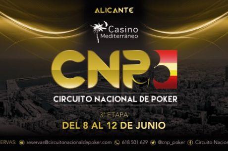 El Circuito Nacional de Poker 2016 llega a una de sus plazas preferidas