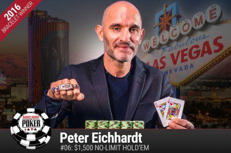 Peter Eichhardt Vence Evento #6: $1500 No-Limit Hold'em ($438.417)