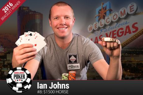 WSOP 2016: Ian Johns Vence Evento #8: $1,500 H.O.R.S.E. ($212.604)
