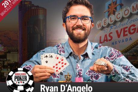 WSOP 2016: Ryan D'Angelo Osvojio Prvu Narukvicu
