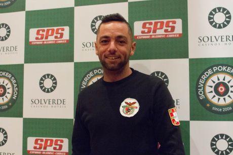 Helder Cotovio Lidera Dia 1 Main Event Etapa #7 Solverde Poker Season