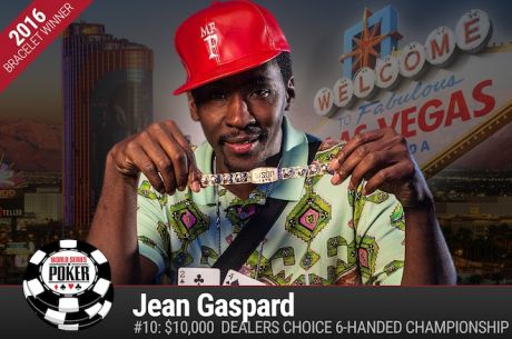 Jean Gaspard Vence Evento #11: $10k Dealers Choice 6-Handed Championship