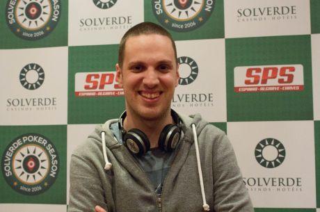 João Baiona Lidera com 20 em Jogo na Etapa #7 Solverde Poker Season