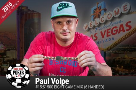 "Paul Volpe Wins His Second WSOP Bracelet After Proclaiming He Was ""Gonna Win"""