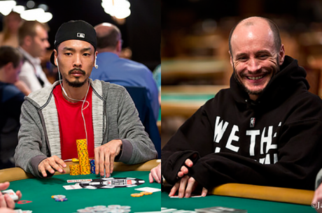 Chino Rheem e Mike Leah no Top 10 do Evento #18: $3000 H .O. R. S. E. (Dia 1)