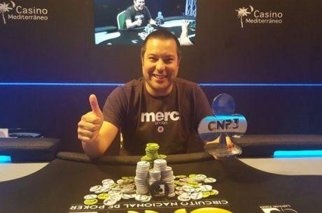 Jun Longton consigue la victoria en la tercera etapa del Circuito Nacional de Poker 2016