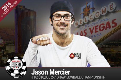 Jason Mercier Vence Evento #16: $10k 2-7 Draw Lowball Championship ($273.335)