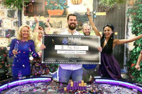 """""""Retro Poker Cup"""" finalinėje dienoje Justas Semaška susižėrė 123,000 dolerių!"""