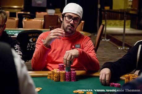 Jason Mercier Chip Leader com 8 em Jogo no Evento #20: $10k Seven Card Razz Championship