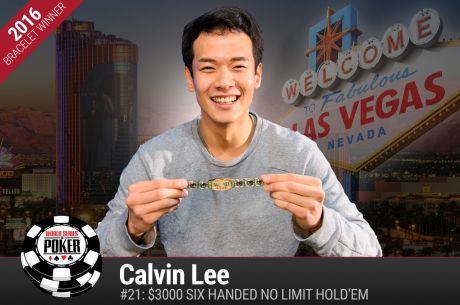 WSOP-2016: Первый браслет Кэлвина Ли