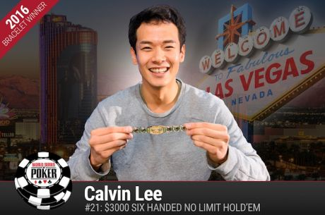 Calvin Lee Vence Evento #21: $3000 6-Handed No-Limit Hold'em ($531.577)