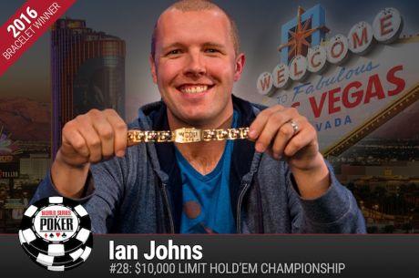 Ian Johns Vence Evento #28: $10,000 Limit Hold'em Championship ($290.635)