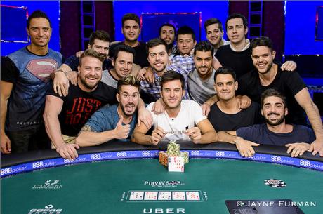 ¡Diós salve a César García! Primer brazalete español en las WSOP 2016