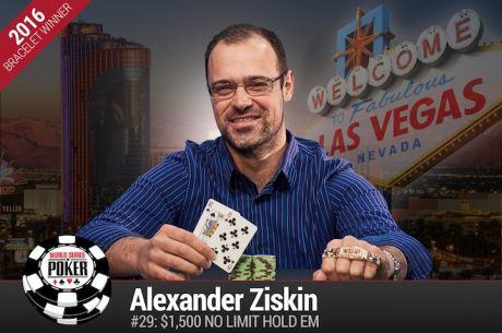 Alexander Ziskin Vence Evento #29: $1500 No-Limit Hold'em  ($401.494)