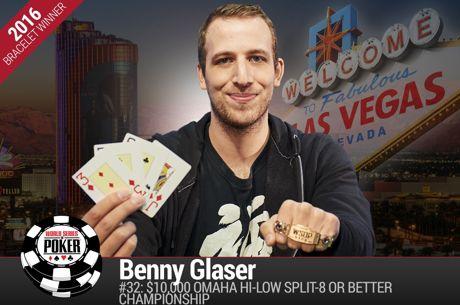 WSOP Event #32 - Jason Mercier achtste, Benny Glaser wint back-to-back PLO8