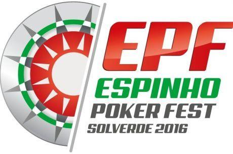 José Porto Lidera Dia 1D Espinho Poker Fest; Dia 2 com Late Reg. Hoje às 21:00