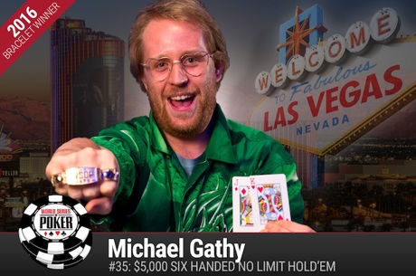 Michael Gathy Vence Evento #35: $5k 6-Máx NLH ($448.463)